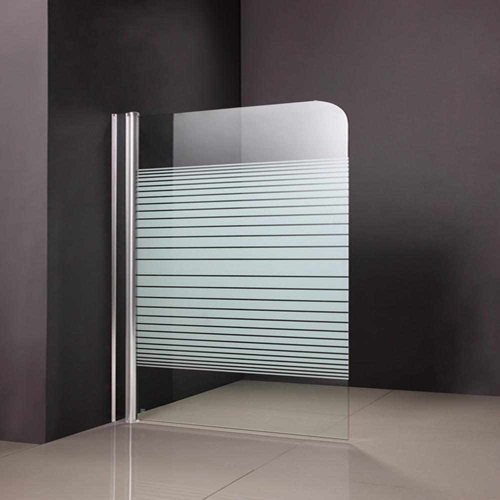 Simple Half Glass Shower Doors