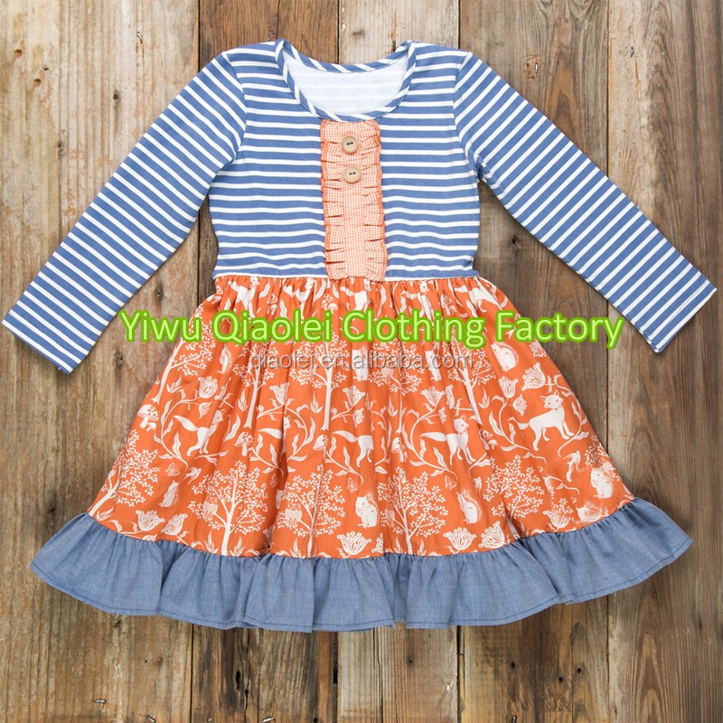 2f6f40a5e23e0 Wholesale Children's Boutique Clothing Horse Panel Ruffle Raglan Dress With  Icing Ruffle Pants Outfits Girls Ruffle Raglan - Buy Wholesale Girls ...