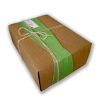 Chian online shopping custom kraft paper box for chocolate and edd packing