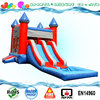 Attractive inflatable jumping castle water slide,cheap inflatable bouncy slide combo
