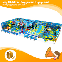 >Hign quality cheer oceanic theme factory direct sale amusement used slides indoor playground