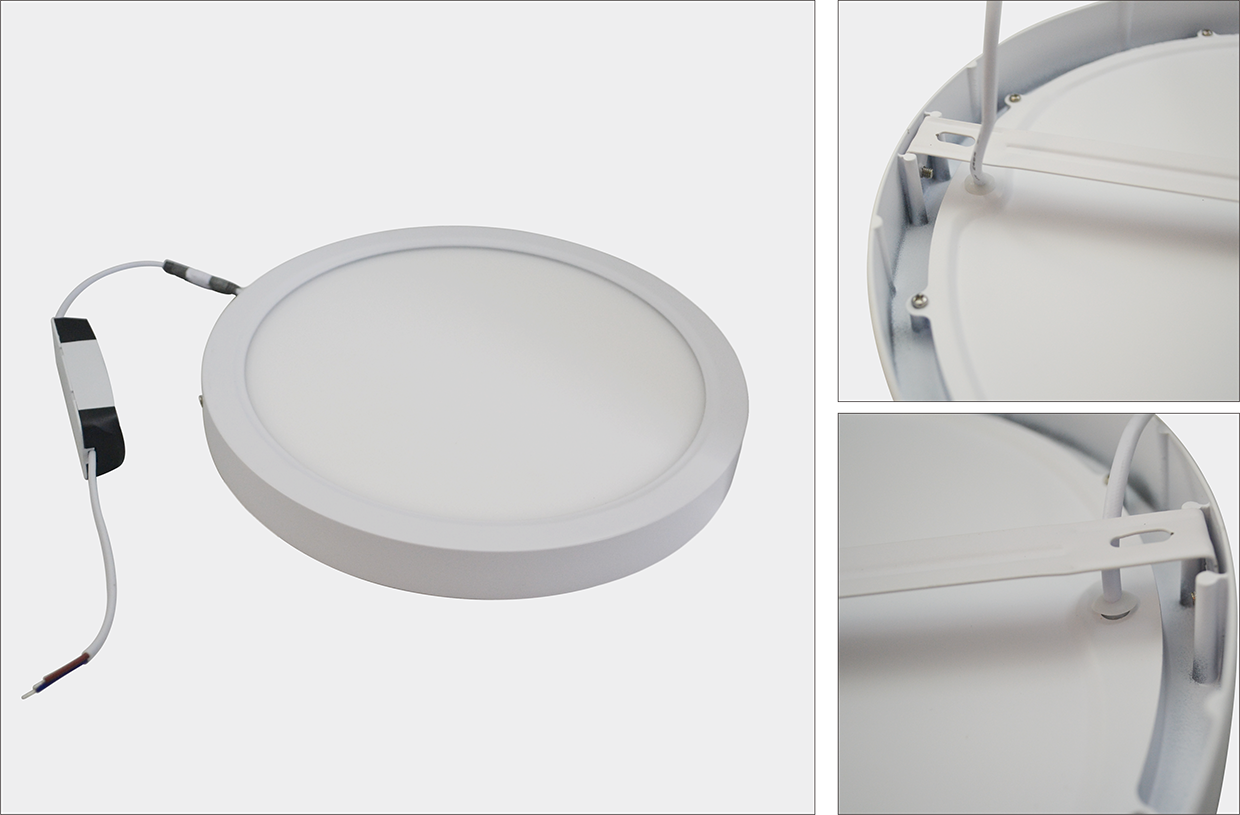 24W 2835SMD New Design Round Surface Mounted Panel Lamp Led Ceiling Light of Living Room Office