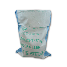 25kg 50kg Durable white pp woven bag sand bag for sugar,rice,feed,cement