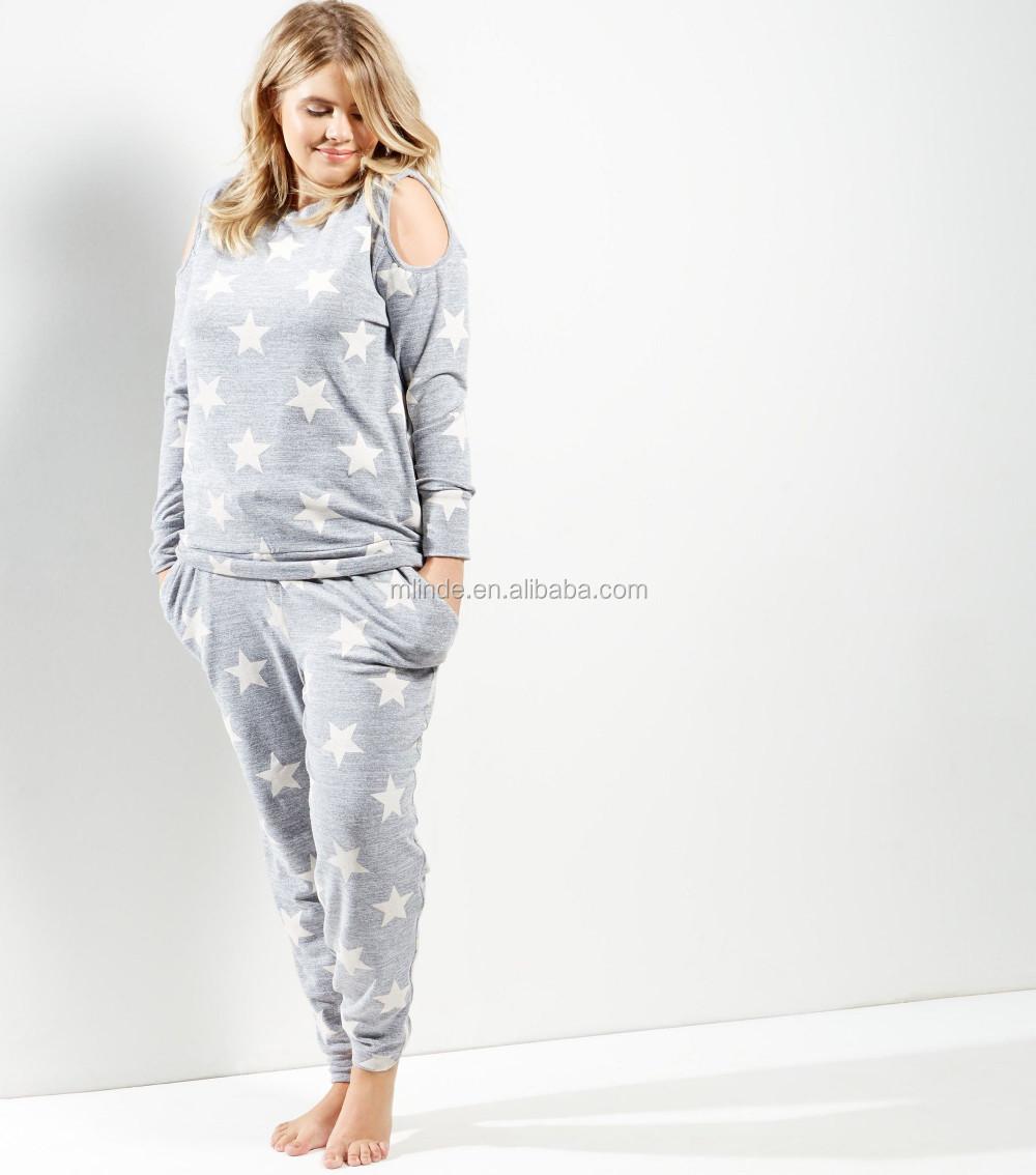 e1704cce3a Cheap Plus Size Women Clothes All Over Star Print Joggers Hip Hop Dance  Baggy Sweatpants