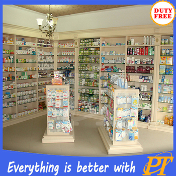 Pharmacy Shop Counter Design Retail Medical Store Display ...