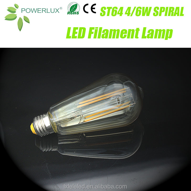 China Factory Price Cost Effective Vintage Led Lamp Edison & Bulb Filament A19 A 60