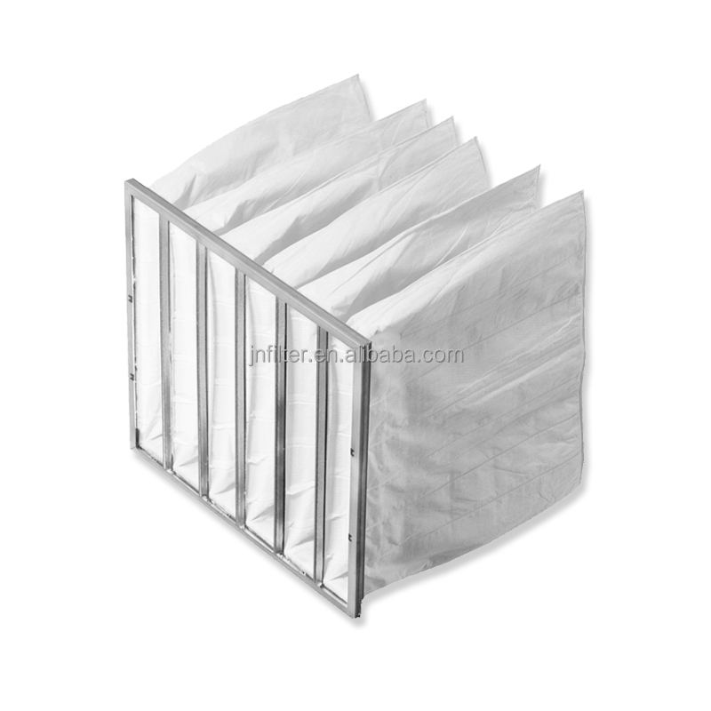 March Promotion F5 Pre Filter Non Woven Frame Pocket Filter Bag Type
