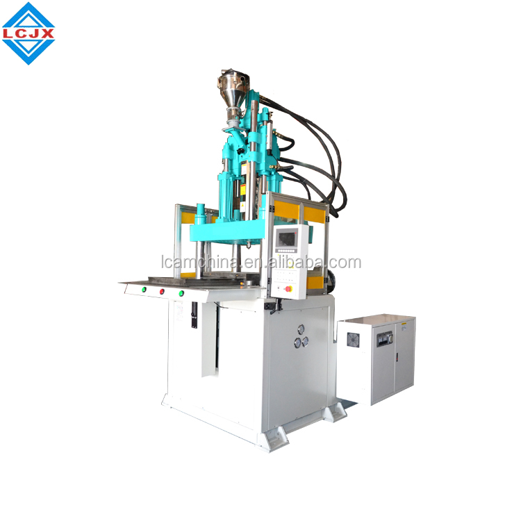 single slide table 85ton full auto vertical injection molding machine in China