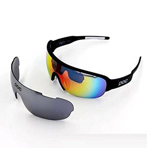 HECHAI_Half-frame glasses glasses riding sports men and women can be worthy of myopic riding glasses