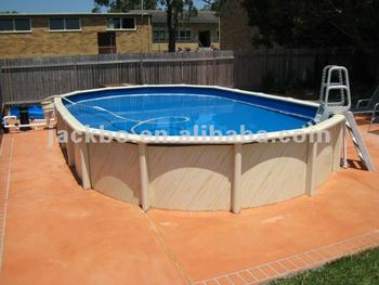 China above ground pvc swimming pool with metal frame - Above ground swimming pool rental ...