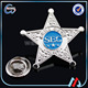 metal sheriff star badges