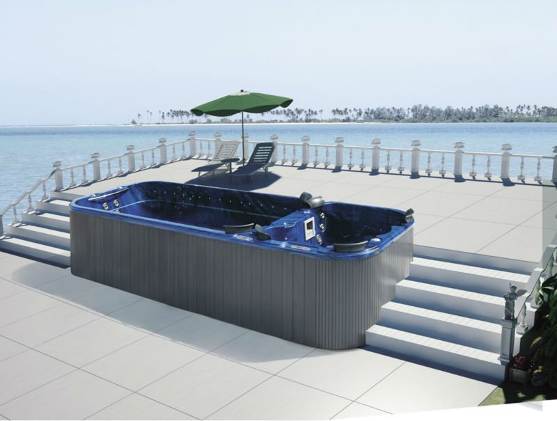 Well-liked Pool Hot Tub Combo M-3323 - Buy Pool Hot Tub Combo,Pool Spa Combo  YK15