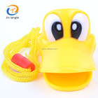 Cute Cartoon Plastic Toy Duck Whistle
