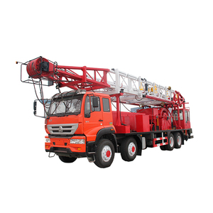 Model XJ700-L 40 tons truck mounted workover rig