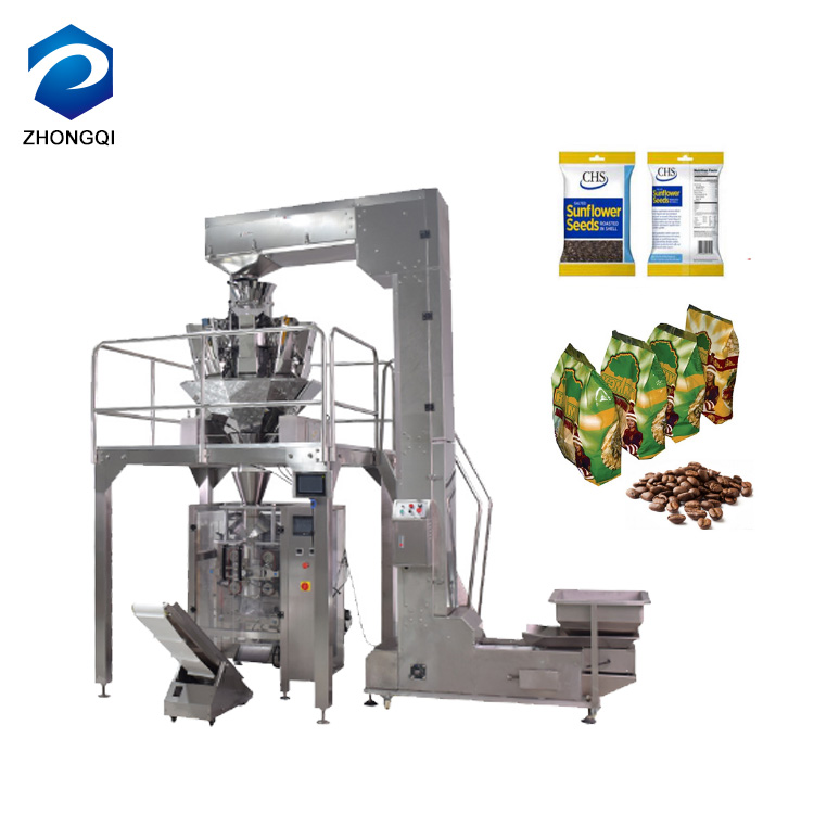 Automatic Lentils / Chickpeas / Coffee Bean Packaging Machine