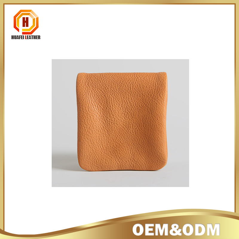 Alibaba supplier tan leather men wallet Men leather coin purse new designer coin purse