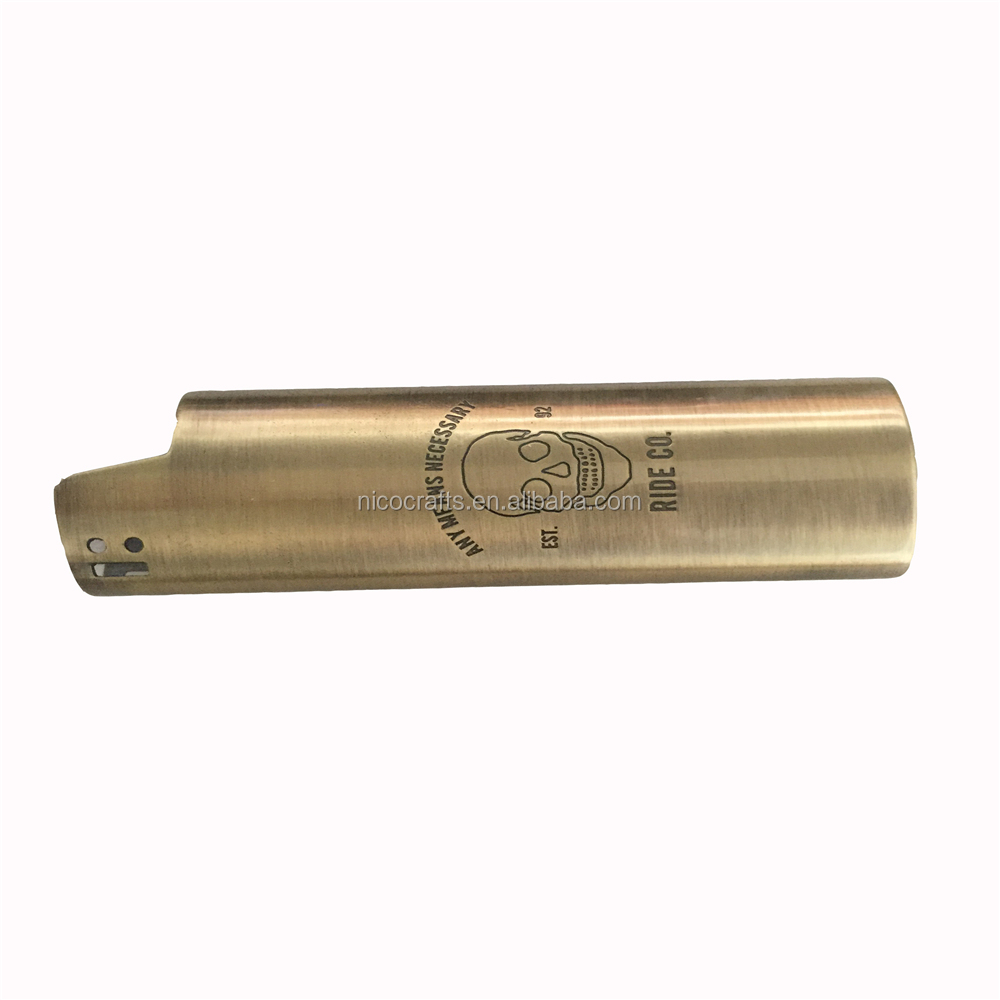 Top popular custom logo lighter case smoking accessories