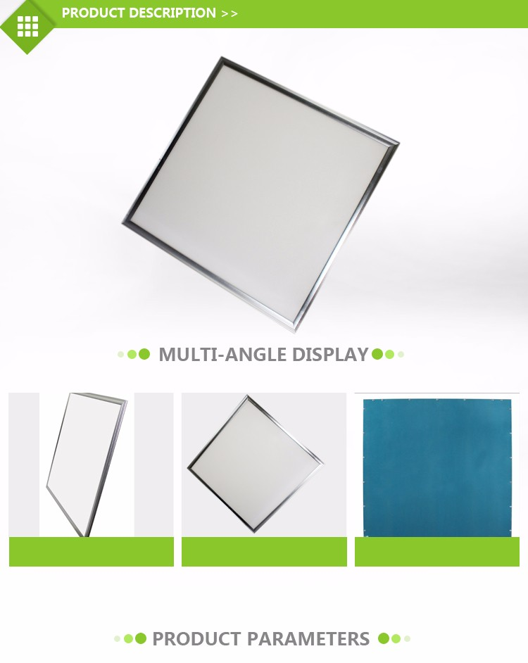 flat lighting rgb 36w 600x600 60x60 2x2 2ft x 2ft led panel light square