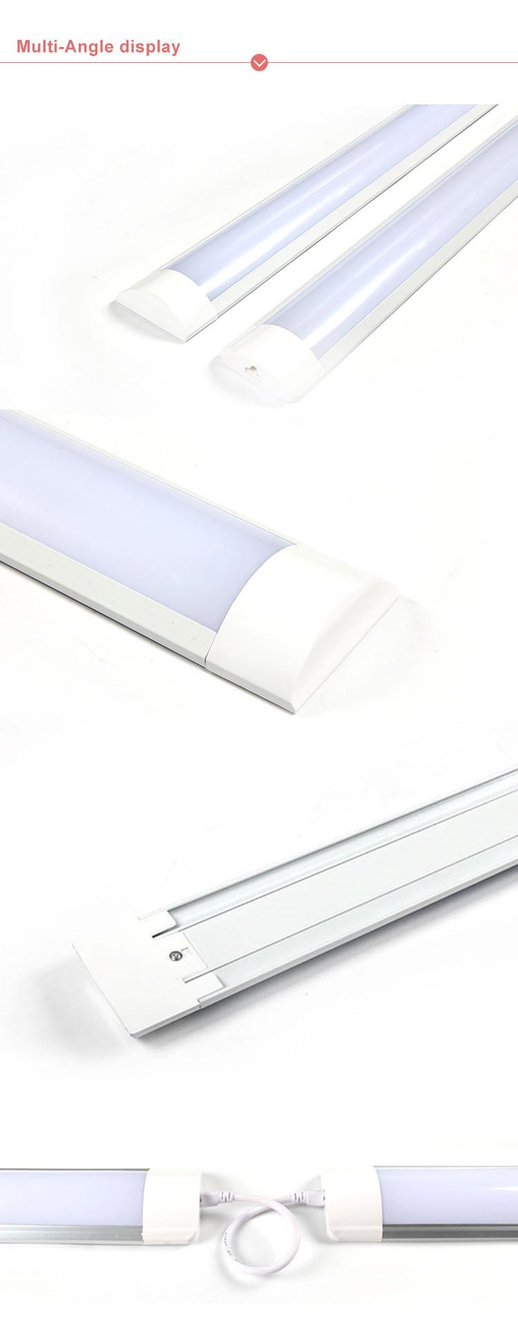 Teluk Tinggi Linier Lampu LED Industri LED Lampu Batten 4ft 8ft 36 W 72 W Super Kecerahan LED Batten 1200