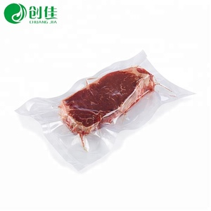 fast cooling seafoods and frozen food packaging 7/9 layer coex plastic vacuum bags