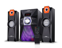 multifuction 2.1 big woofer speaker for home theater