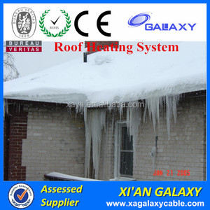 Electric Heating Cable For Roof Snow Melting/15W Gutter Ice Melting Cable/Roof Defrost Heating Resistant Cable
