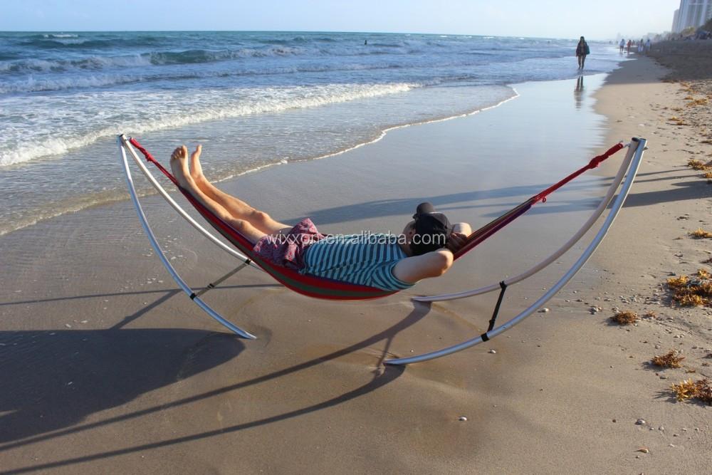 Portable Folding Aluminium Beach Hammock