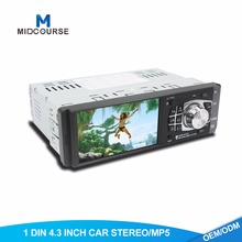 4.1 inch 1 din chinese car radio Build in RearView Camera USB FM Bluetooth