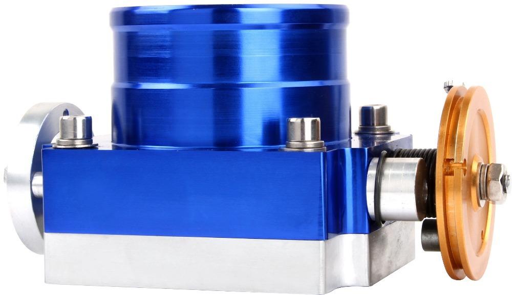 100 мм впускной коллектор алюминия дроссельной заслонки дроссельной заслонки сделано в китае
