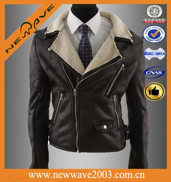 Most popular men's yamaha leather motorcycle jacket