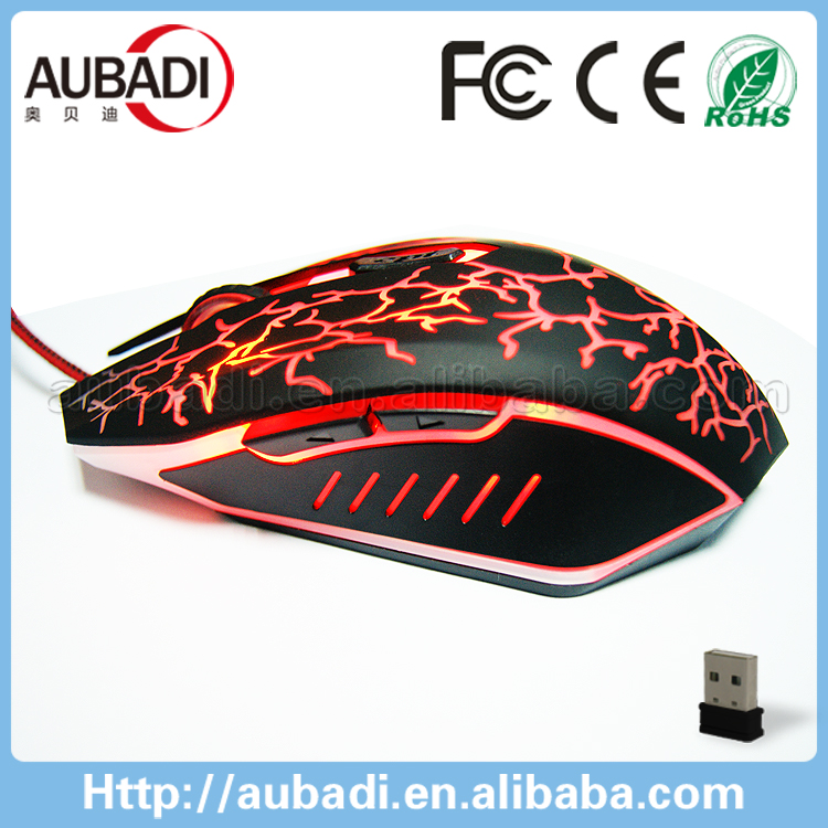 2016 Hot Selling OEM LED custom 8d optical gaming mouse