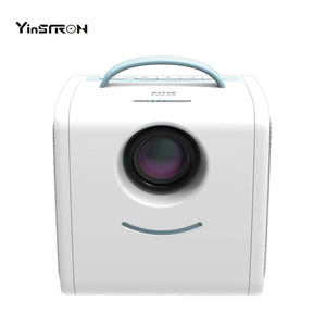 LED Portable projector S1 Mini Cartoon Projector hot selling hd home theater projector for child