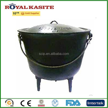 33 gallon giant kettlecast iron cauldron size 33