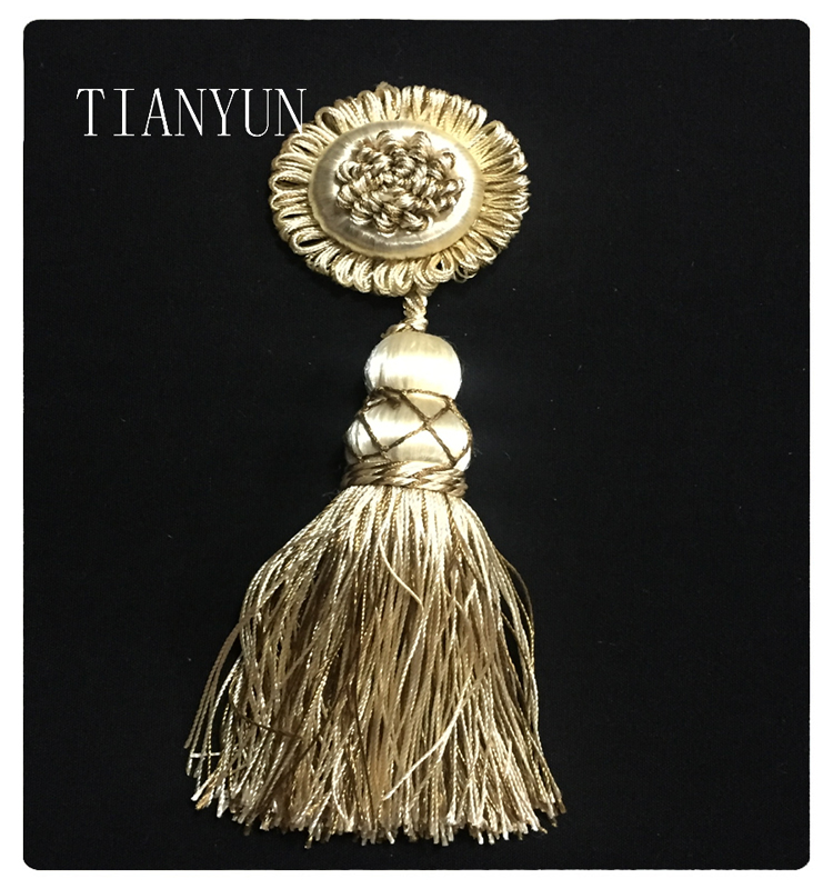China Textile Accessories High Quality Promotional Braided Bullion Fringe Tassel