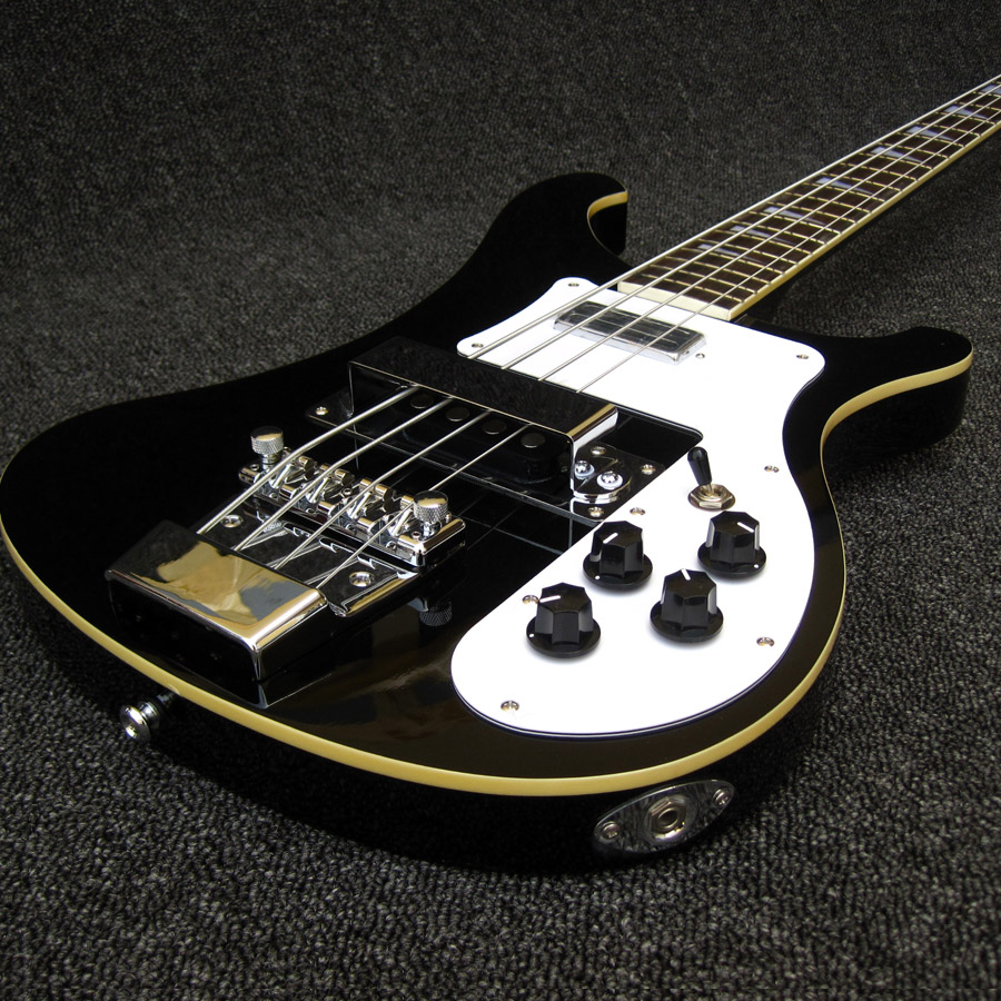 Jetglo Rikenbker 4003 Bass Black Global high quality Wholesale Custom Oem Electric Bass Guitars