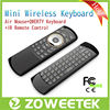 Latest 2.4g High-tech mini wireless air mouse keyboard for Hisense and for Samsung smart tv