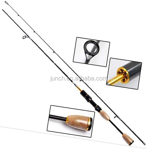 1.8m UL Fishing Rod High Carbon 2 Section Ultra Light Spinning Rod