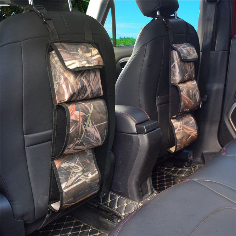 Multi Purpose Camo Car Seat Back Gun Sling Holder for Outdoor Rifle Hunting