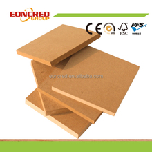 1830*3660*16mm plain MDF board for furniture