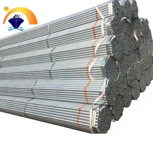 hot dipped q345d round galvanized steel pipe / tube
