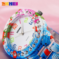 fancy flower patterns new girls fashion watches