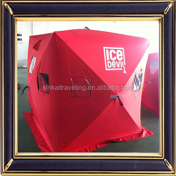 Eskimo Quickfish 3 Ice Shelter Fishing Shanty Portable Red Tent - Buy Ice  Fishing Tent,Portable Party Tent,Pop-up Ice Fishing Tent Product on