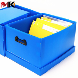 Eco-friendly Folding PP Corrugated Plastic Boxes