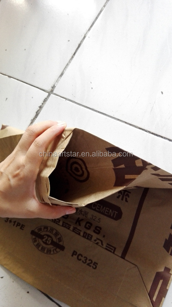 Brown Extensible Sack Kraft Paper With Valve