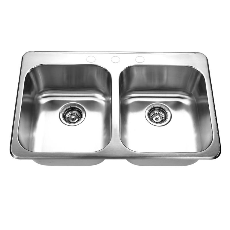 3120C Topmount Double Bowl Kitchen Sink