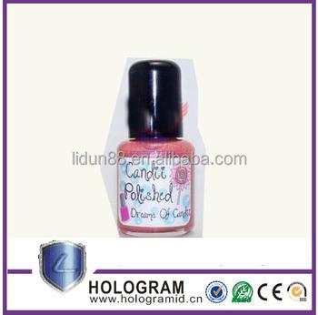 Hot Custom Labels For Nail Polish Adhesive Bottle