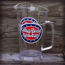 Oskar Blues Brewery Logo Plastic Beer Pitcher 64 ounces NEW