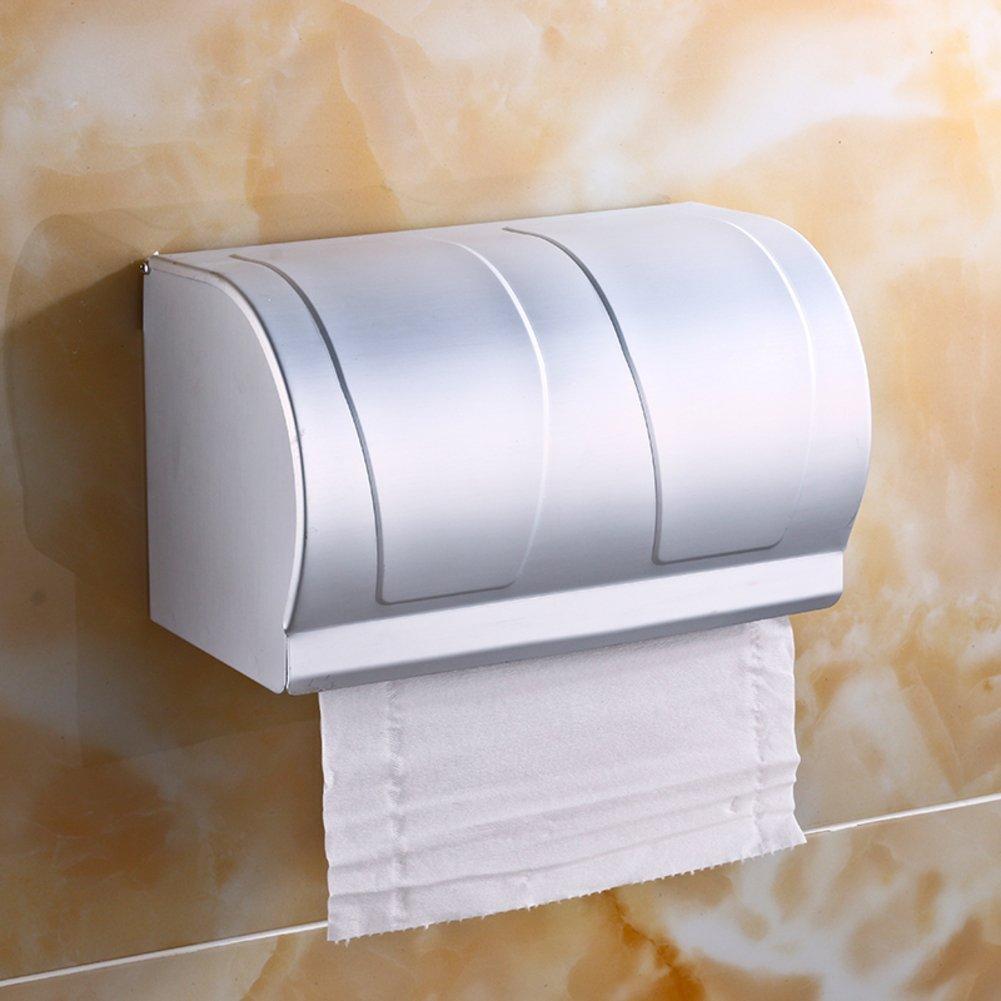Space aluminum toilet tissue box/Toilet tray/Hygienic tray/Toilet paper holder/Hygienic tray/Tissue-paper basket-C