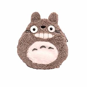 Wallet Men Women Plush Leather Money Fold Anime Purse Cosplay Brown Bunny totoro