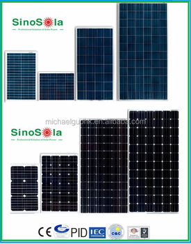 Solar Panel Sticker Solar Pv Module Solar Pv Panel 2w 340w